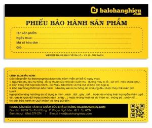 In phiếu bảo hành giá rẻ lấy nhanh ở đâu Hà Nội