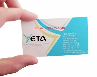 Địa chỉ in card visit lấy nhanh giá rẻ nhất ở đâu Hà Nội
